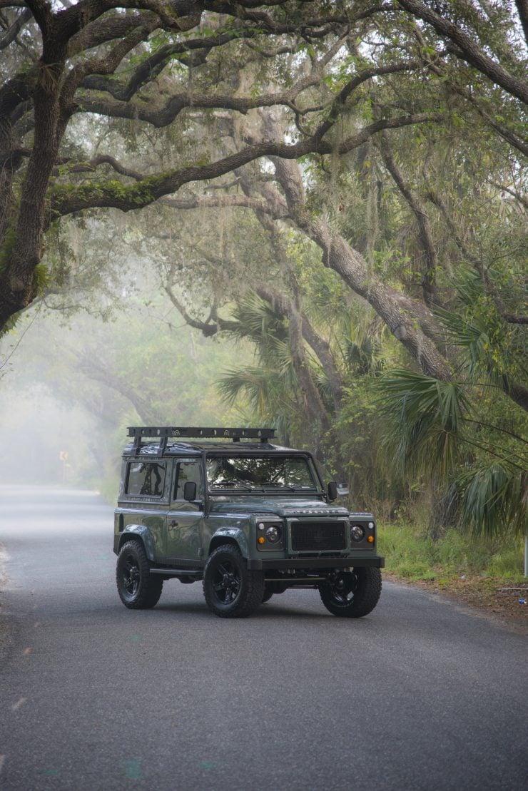 Land Rover Defender 90 5 740x1109 - Project 13 Land Rover Defender 90