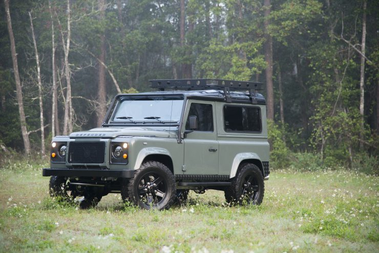 Land Rover Defender 90 740x494 - Project 13 Land Rover Defender 90