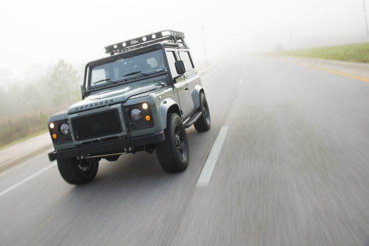 Land Rover Defender 90 9 740x493 - Project 13 Land Rover Defender 90