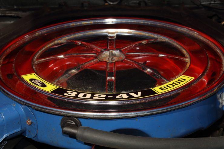 Mercury Cougar Boss 302 10 740x493 - 1969 Mercury Cougar Boss 302