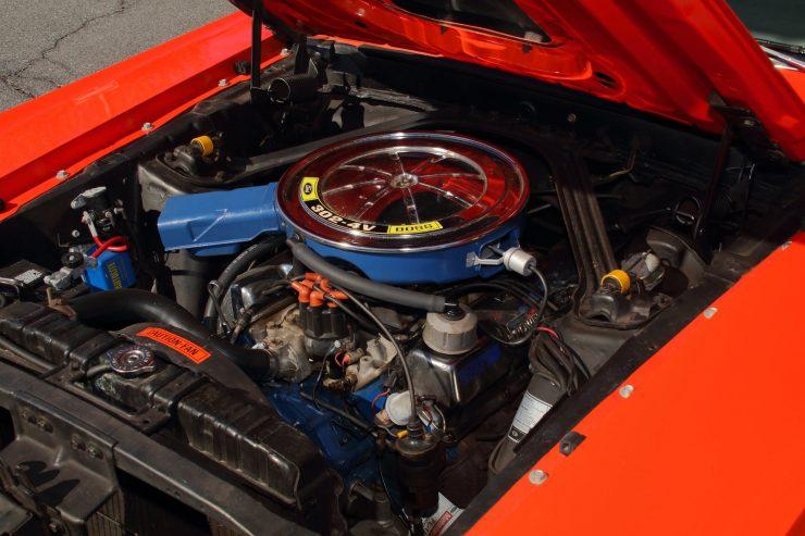 Mercury Cougar Boss 302 4 740x493 - 1969 Mercury Cougar Boss 302