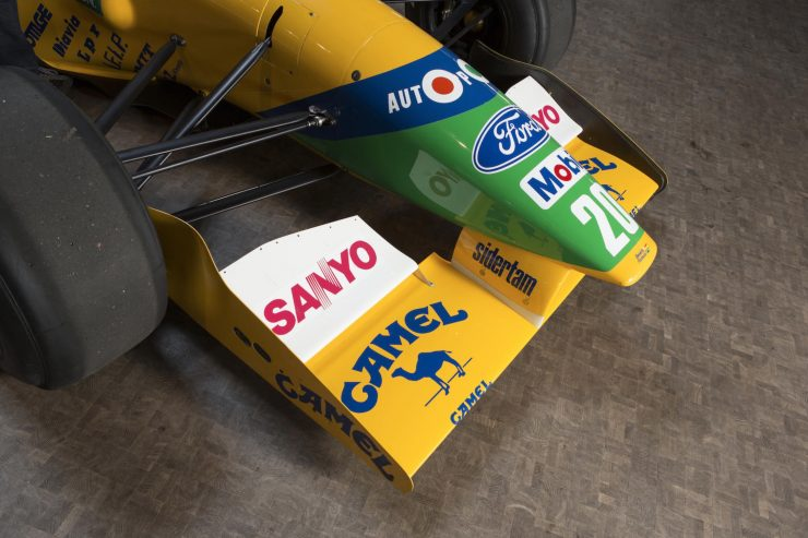 Michael Schumacher 1991 Benetton Formula 1 Car 16 740x493 - Ex-Michael Schumacher 1991 Benetton F1 Car