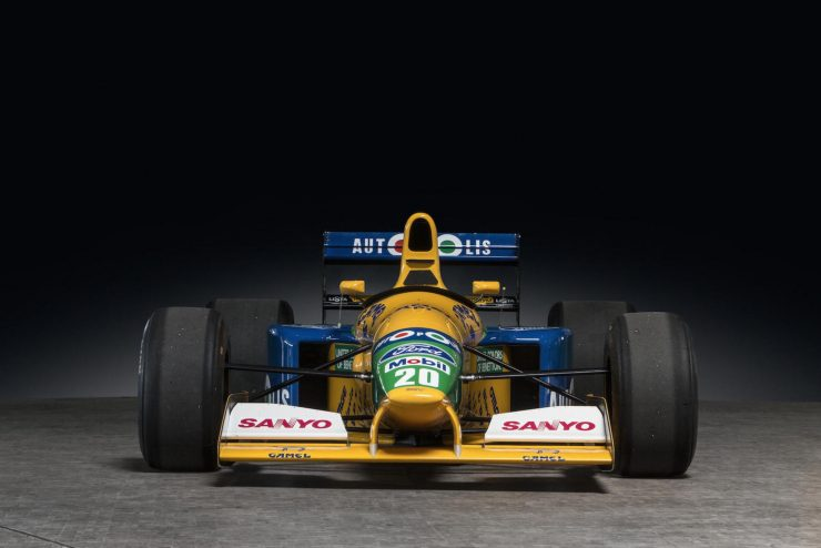 Michael Schumacher 1991 Benetton Formula 1 Car 18 740x494 - Ex-Michael Schumacher 1991 Benetton F1 Car