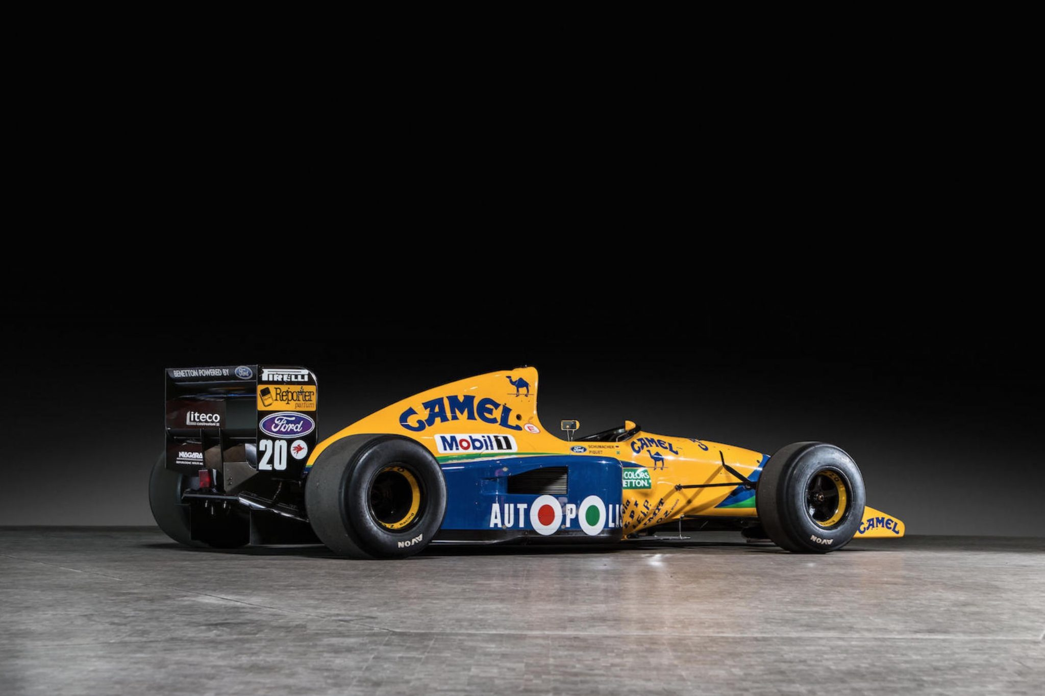 F1: Ex-Michael Schumacher 1991 Benetton F1 Car
