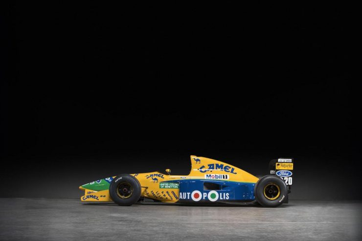 Michael Schumacher 1991 Benetton Formula 1 Car 3 740x492 - Ex-Michael Schumacher 1991 Benetton F1 Car