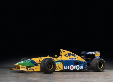 Michael Schumacher 1991 Benetton Formula 1 Car 450x330 - Ex-Michael Schumacher 1991 Benetton F1 Car
