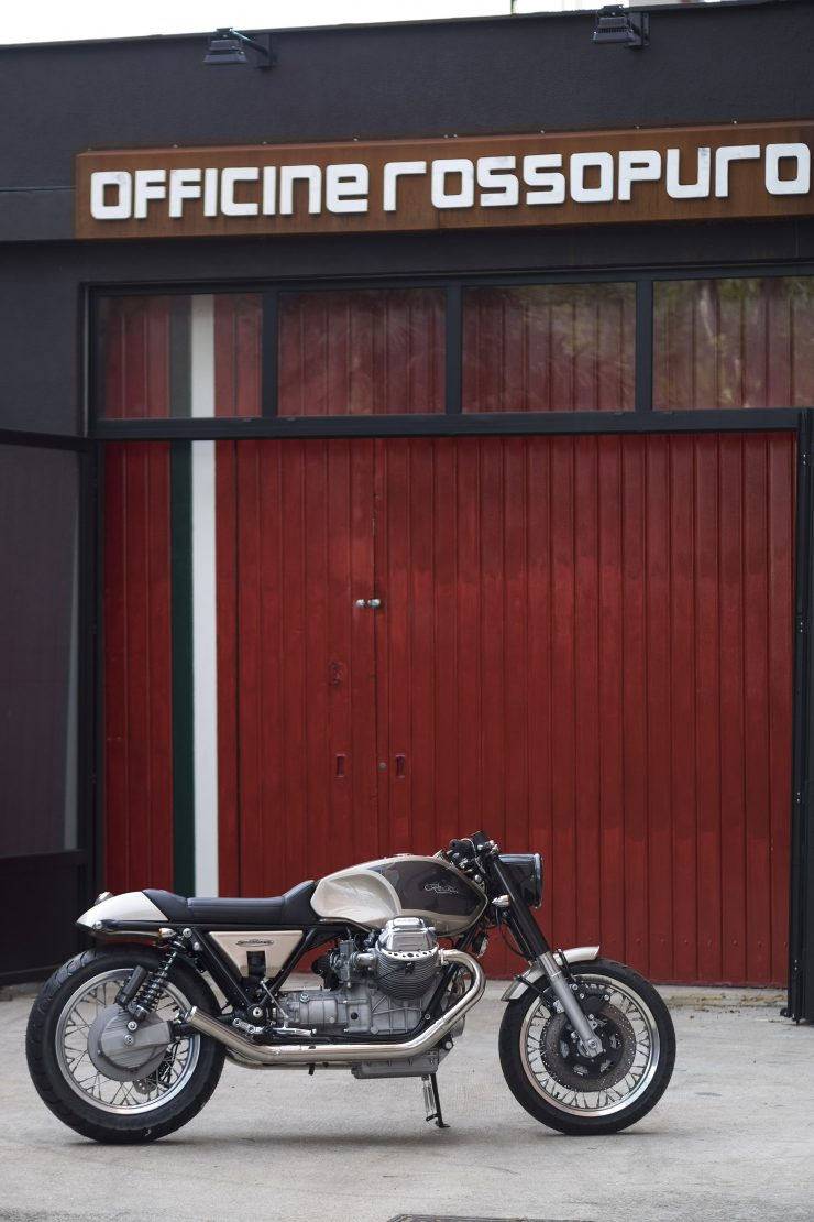 Moto Guzzi California T3 3 740x1110 - Officine Rossopuro Moto Guzzi T3 California