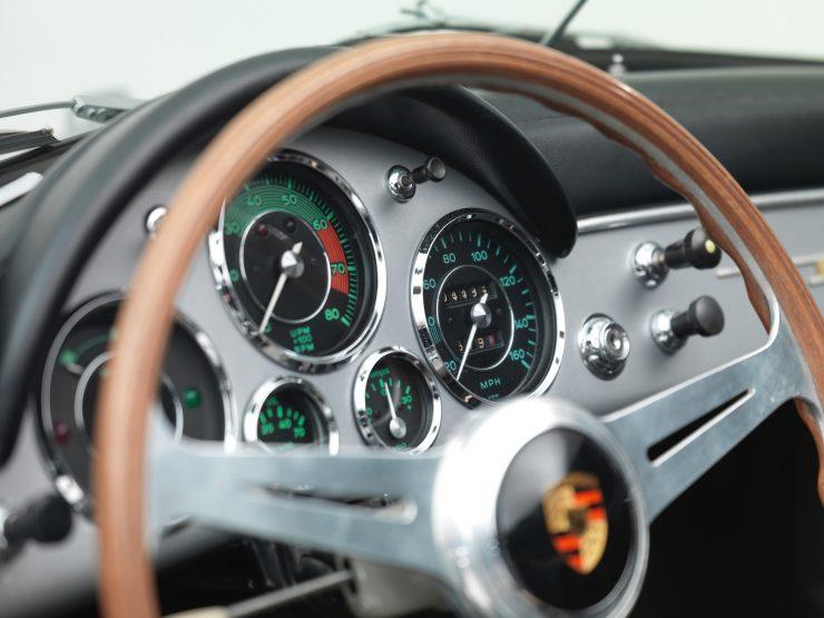 Porsche 356 Speedster 15 740x555 - 1958 Porsche 356 A 1600 Super Speedster