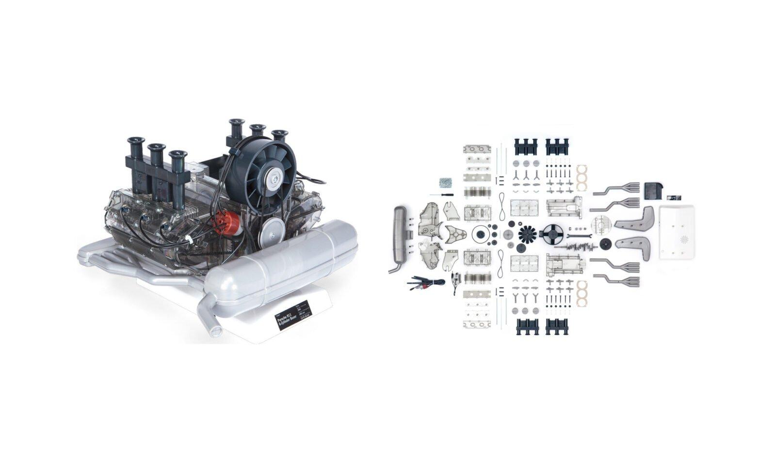 Porsche Flat 6 Engine Model 1600x961 - Porsche Flat-6 Engine 1:4 Scale Model