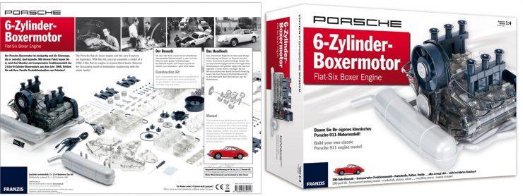 Porsche Flat 6 Engine Model 3 740x278 - Porsche Flat-6 Engine 1:4 Scale Model