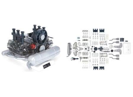 Porsche Flat 6 Engine Model 450x330
