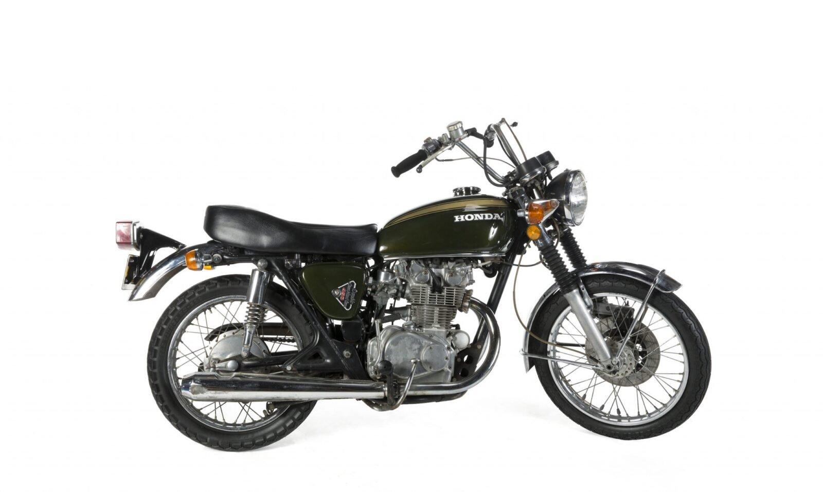 Steve McQueen Motorcycle 1600x956 - Steve McQueen's Honda CB450