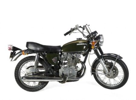 Steve McQueen Motorcycle 450x330