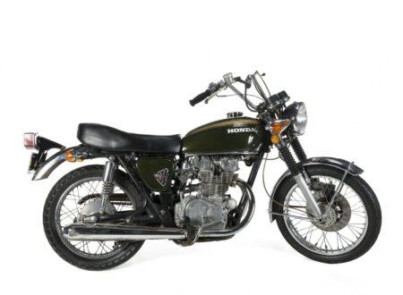 Steve McQueen Motorcycle 450x330 - Steve McQueen's Honda CB450
