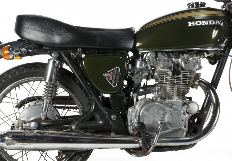 Steve McQueens Honda CB450 740x514