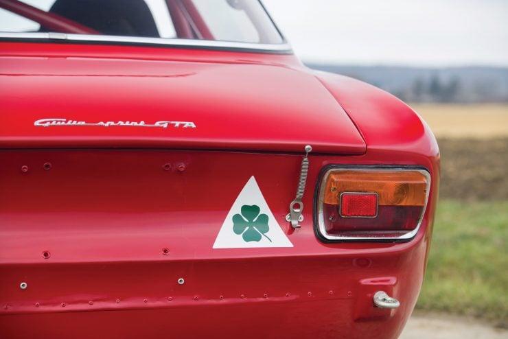 alfa romeo giulia 23 740x494 - 1965 Alfa Romeo Giulia Sprint GTA