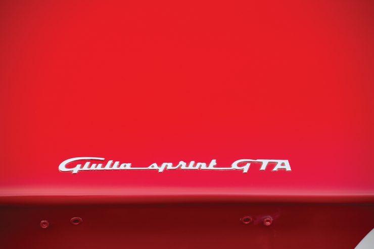 alfa romeo giulia 7 740x494 - 1965 Alfa Romeo Giulia Sprint GTA
