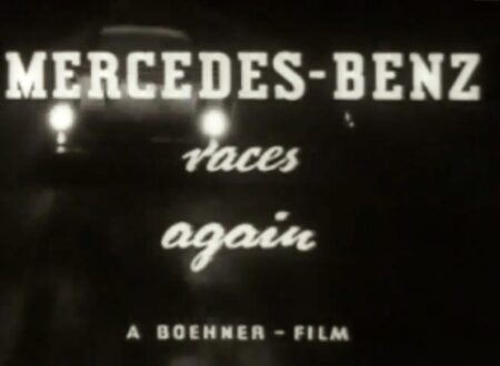 1954 Documentary Mercedes Benz Races Again 450x330