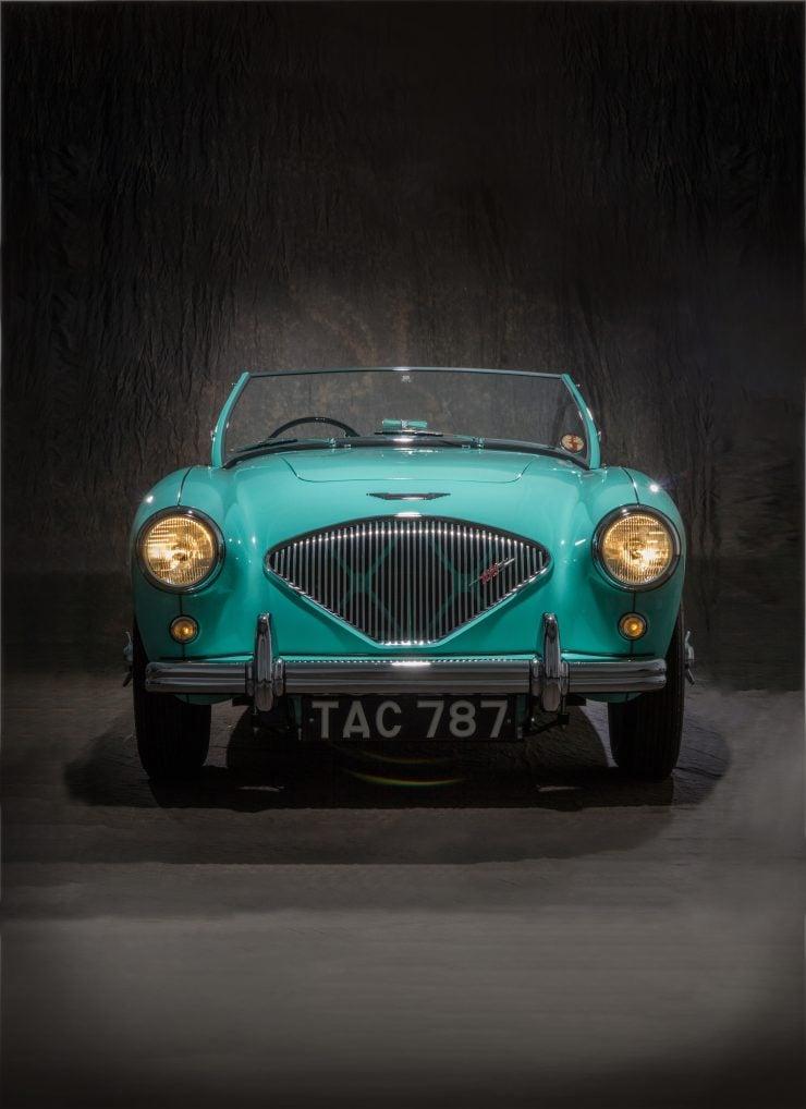 1955 Austin Healey 100 BN2 Chassis no. BN2 228607 i 740x1018 - The 1955 Earls Court Motor Show Car - Austin-Healey 100/4