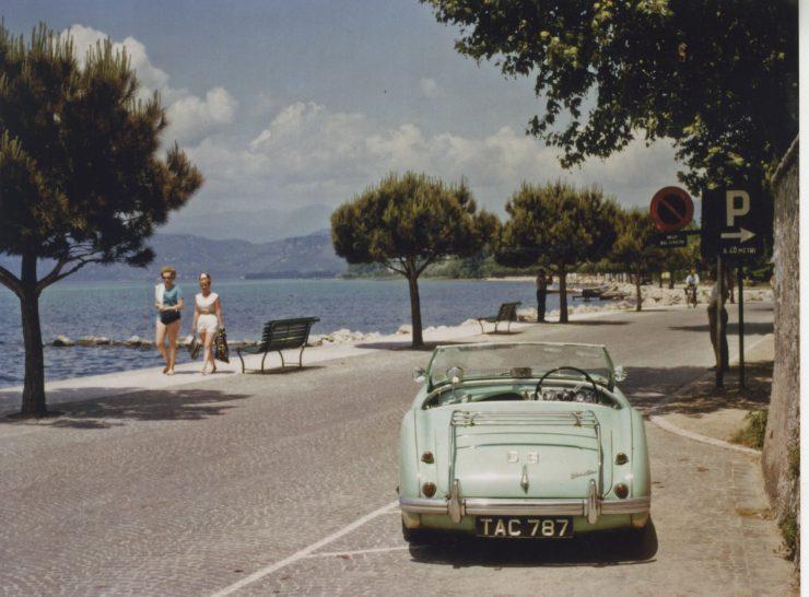 1955 Austin Healey 100 BN2 Chassis no. BN2 228607 ii 740x546 - The 1955 Earls Court Motor Show Car - Austin-Healey 100/4