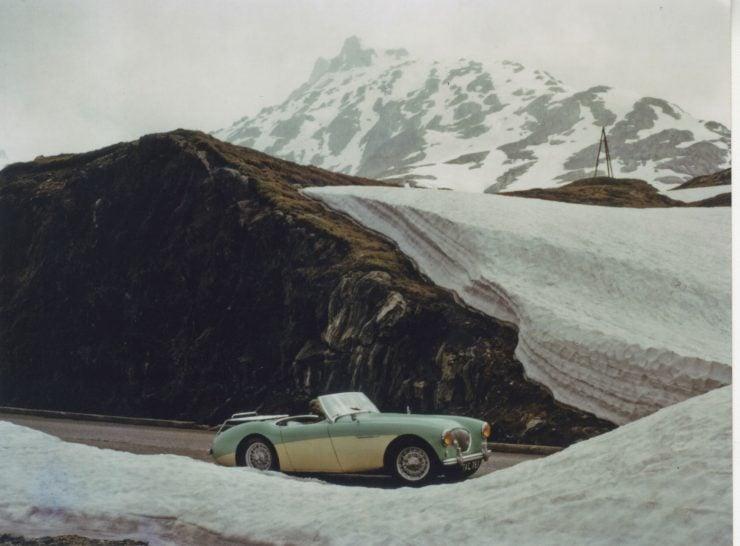1955 Austin Healey 100 BN2 Chassis no. BN2 228607 iii 740x546 - The 1955 Earls Court Motor Show Car - Austin-Healey 100/4