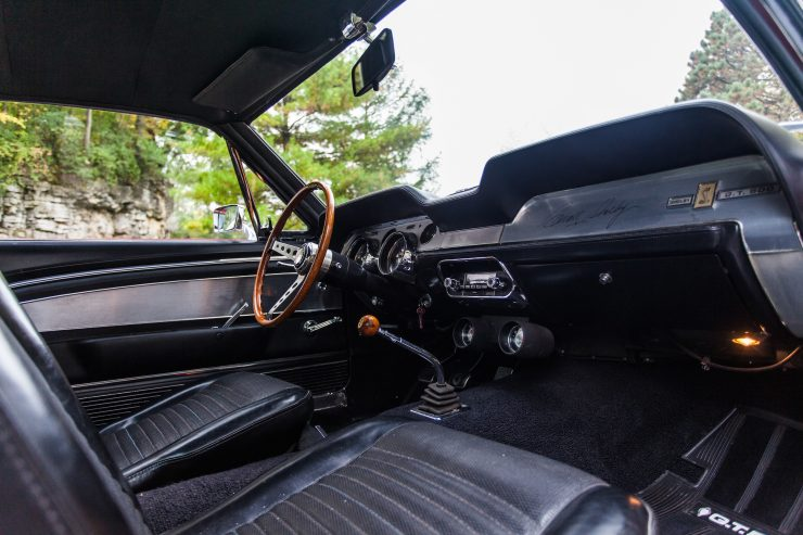 1967 Shelby GT500 Mustang 5 740x493 - 1967 Shelby GT500 Mustang