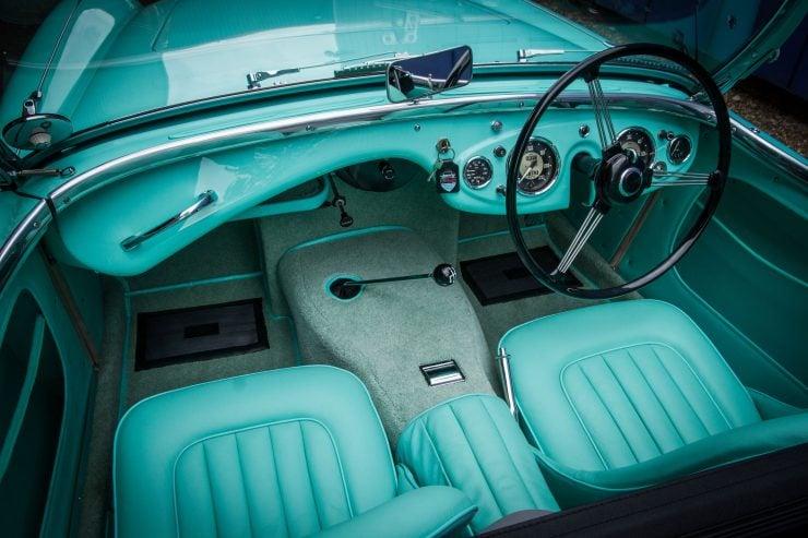 Austin Healey 1004 13 740x493 - The 1955 Earls Court Motor Show Car - Austin-Healey 100/4