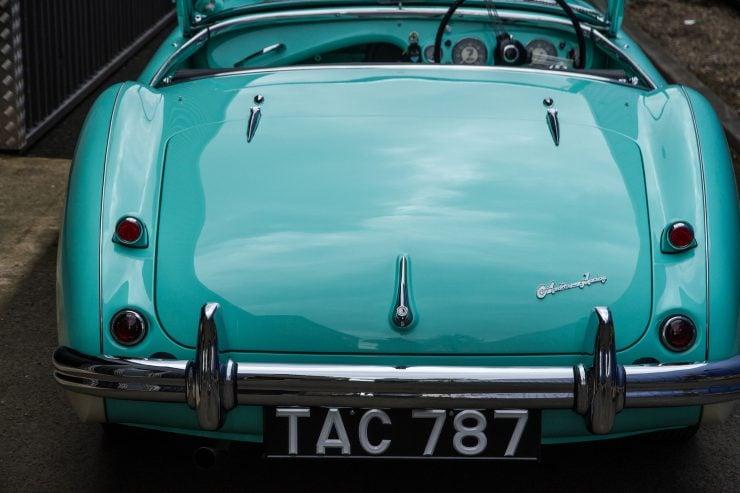 Austin Healey 1004 15 740x493 - The 1955 Earls Court Motor Show Car - Austin-Healey 100/4
