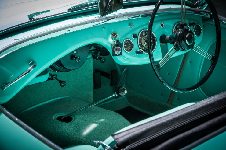 Austin Healey 1004 3 740x493 - The 1955 Earls Court Motor Show Car - Austin-Healey 100/4