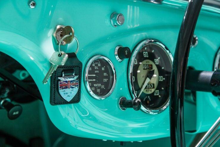 Austin Healey 1004 4 740x493 - The 1955 Earls Court Motor Show Car - Austin-Healey 100/4