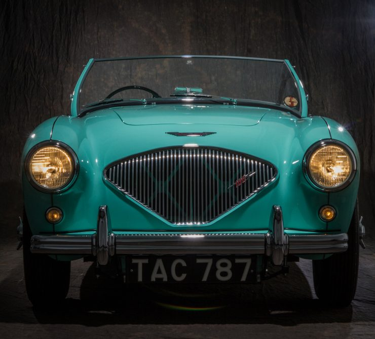Austin Healey 1004 5 740x669 - The 1955 Earls Court Motor Show Car - Austin-Healey 100/4