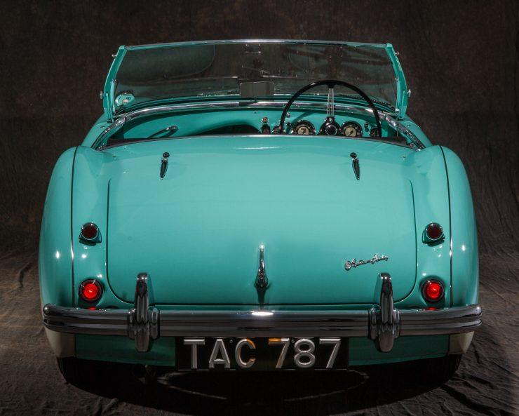 Austin Healey 1004 6 740x593 - The 1955 Earls Court Motor Show Car - Austin-Healey 100/4