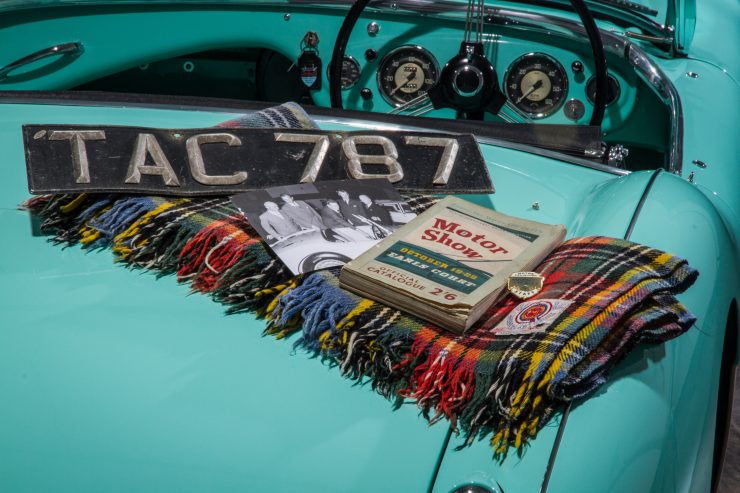 Austin Healey 1004 7 740x493 - The 1955 Earls Court Motor Show Car - Austin-Healey 100/4