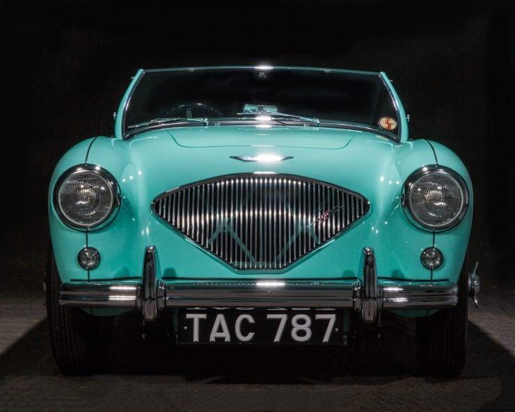 Austin Healey 1004 740x592 - The 1955 Earls Court Motor Show Car - Austin-Healey 100/4