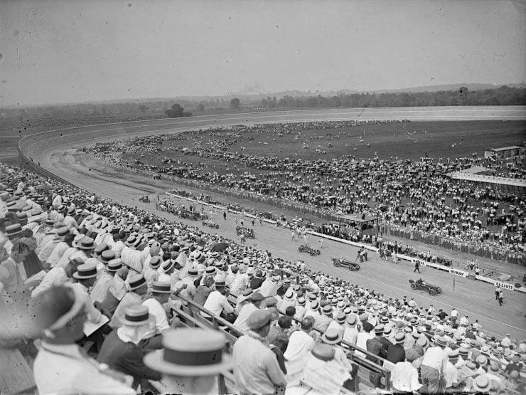 Board track racing 1 740x555 - 1919 Indian Powerplus Board Track Racer