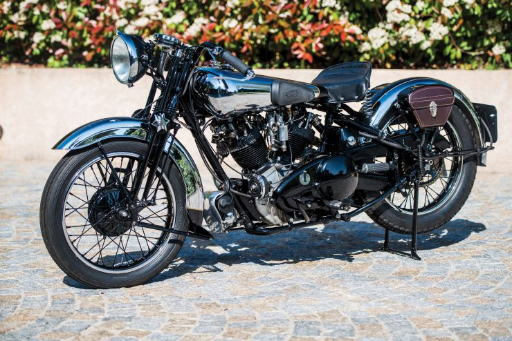Brough Superior 1 740x494 - The Five Brough Superiors of the Villa Erba Sale