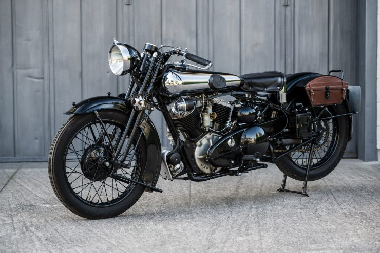 Brough Superior 4 740x494 - The Five Brough Superiors of the Villa Erba Sale