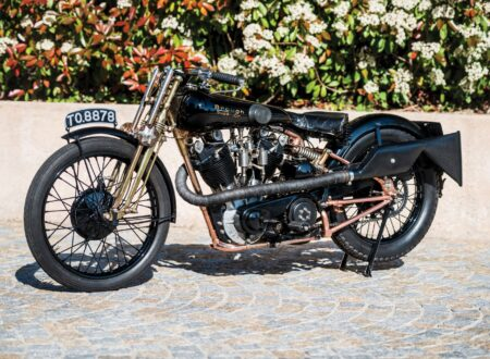 Brough Superior 450x330 - The Five Brough Superiors of the Villa Erba Sale
