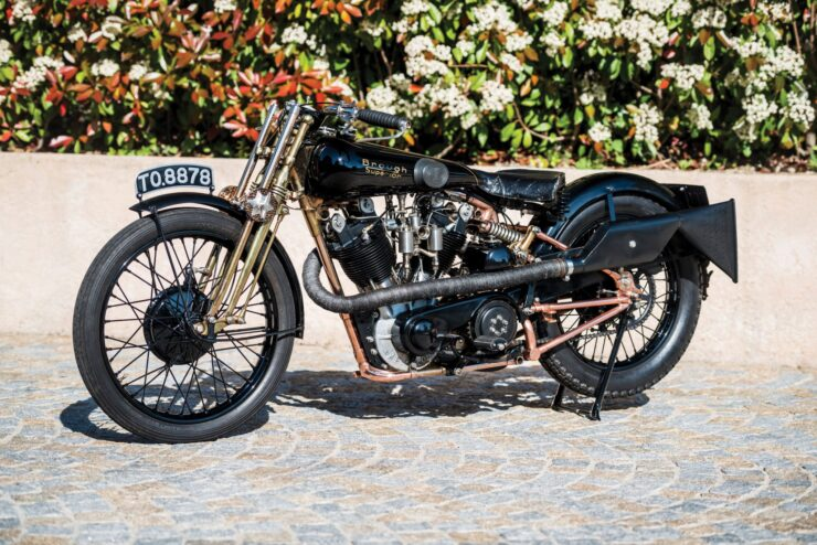 Brough Superior 740x494 - The Five Brough Superiors of the Villa Erba Sale