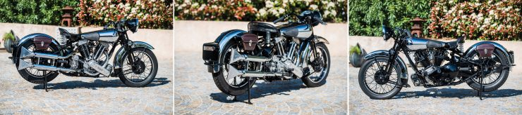 Brough Superior Montage 1 740x164 - The Five Brough Superiors of the Villa Erba Sale