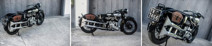 Brough Superior Montage 4 740x163 - The Five Brough Superiors of the Villa Erba Sale