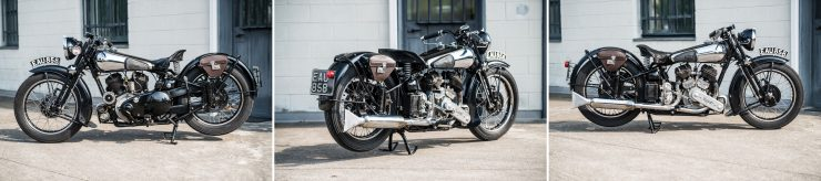 Brough Superior Montage 5 740x164 - The Five Brough Superiors of the Villa Erba Sale
