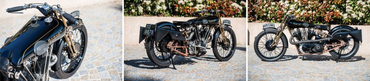 Brough Superior Montage 740x163 - The Five Brough Superiors of the Villa Erba Sale