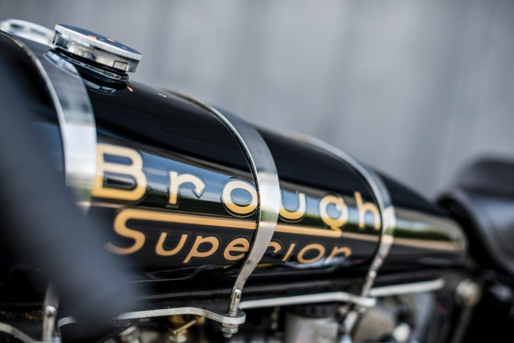 "Brough Superior SS100 11 740x494 - World Speed Record Holder:  Brough Superior ""Baby Pendine"""