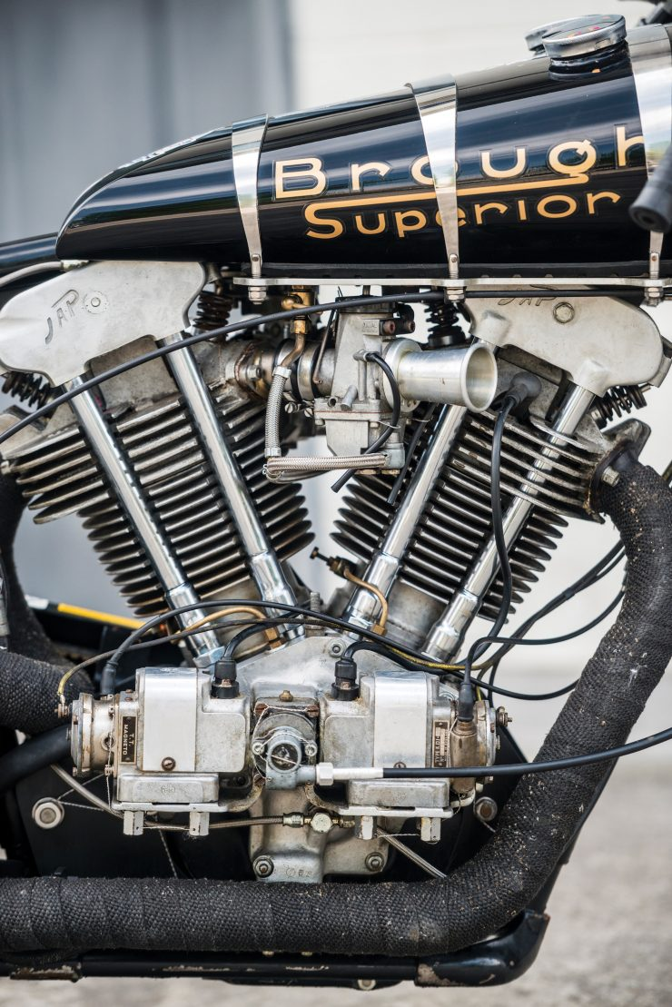 "Brough Superior SS100 2 740x1109 - World Speed Record Holder:  Brough Superior ""Baby Pendine"""