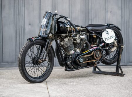 "Brough Superior SS100 450x330 - World Speed Record Holder:  Brough Superior ""Baby Pendine"""