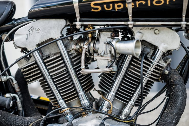 "Brough Superior SS100 6 740x494 - World Speed Record Holder:  Brough Superior ""Baby Pendine"""