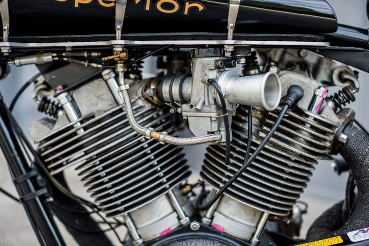 "Brough Superior SS100 8 740x494 - World Speed Record Holder:  Brough Superior ""Baby Pendine"""