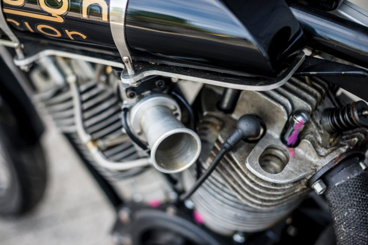 "Brough Superior SS100 9 740x494 - World Speed Record Holder:  Brough Superior ""Baby Pendine"""