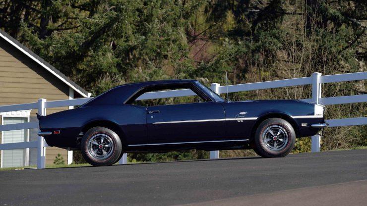 Chevrolet Yenko Camaro 11 740x416 - 1968 Chevrolet Yenko Camaro